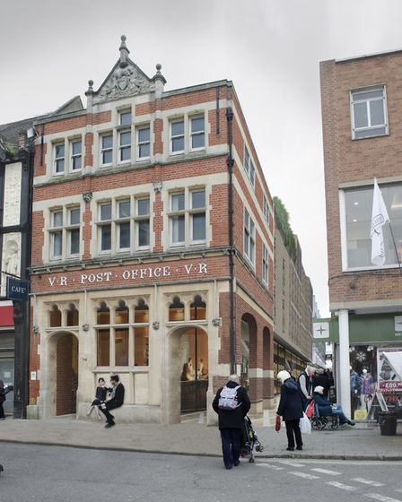 How the former post office building in Bury St Edmunds town centre could look Picture: WEST SUFFOLK