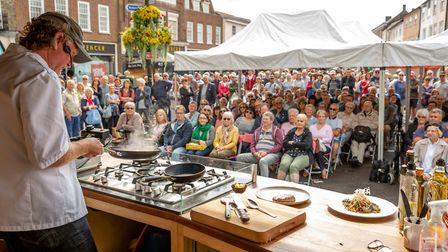 Bury St Edmunds Food & Drink Festival will be running this August bank holiday weekend