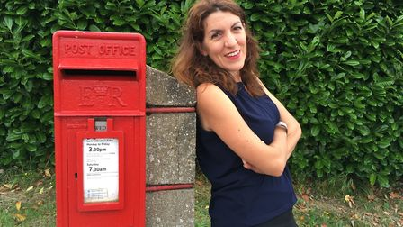 Julie Abbott experienced many quirky moments during her time with Royal Mail. 'Every day, I just wro
