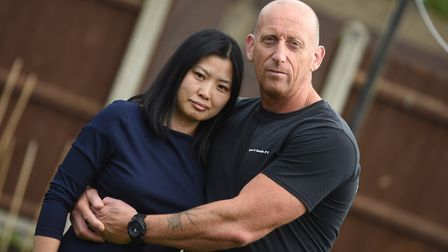 Dean and Grace Smith, from Manningtree, were locked in an immigration row last year Picture: GREGG B