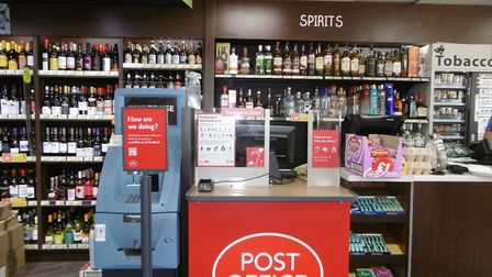 After more than 11 years without a post office, a new post office counter is opening in the family-o