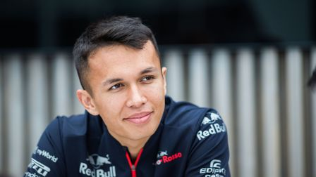 Alex Albon preparing for this weekend's race in Monte-Carlo Picture: PETER FOX/ GETTY IMAGES/ RED BU