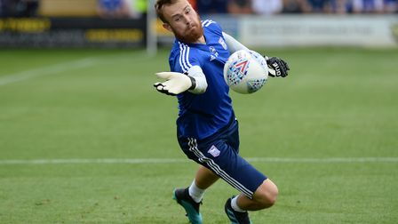 Will Norris, on loan from Wolves, will make his Ipswich Town debut at Luton. Photo: Pagepix