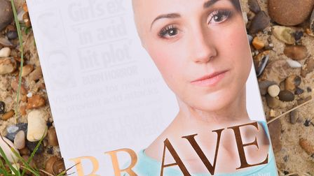 Adele Bellis wrote the book Brave about her experiences. Picture: JAMES BASS