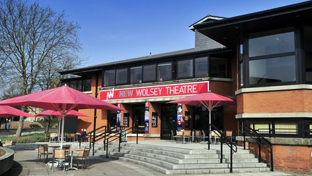 The New Wolsey Theatre, Ipswich, basking in the summer sunshine Photo: Lucy Taylor