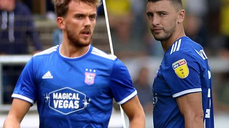 Emyr Huws and James Wilson could start at Luton this evening. Picture: ARCHANT