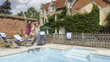 Rectory Manor, near Lavenham, has been nominated as one of the best B&B�s in the country at the upc