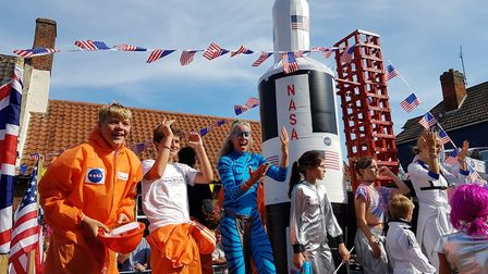 Youngsters enjoying Aldeburgh Carnival 2018 Picture: RACHEL EDGE