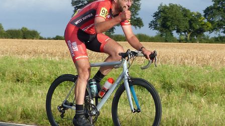 West Suffolk Wheelers team member Malcolm Borg – 199 miles as a warm-up for longer distances at the