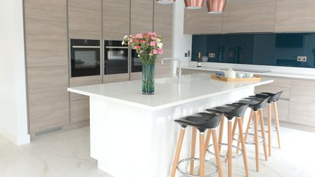 Trudy Avis and her husband Rupert have built thier own dream home from scratch Picture: SARAH LUCY
