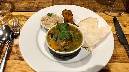 Mark's Suffolk Green Curry at the Foragers Retreat