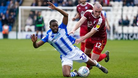 Kane Vincent-Young in action for Colchester United last season. Photo: Steve Waller