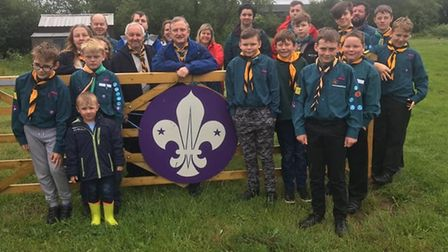 1st Mendlesham Scouts have launched a £150,000 appeal to replace a former scout hut. Picture: 1ST ME