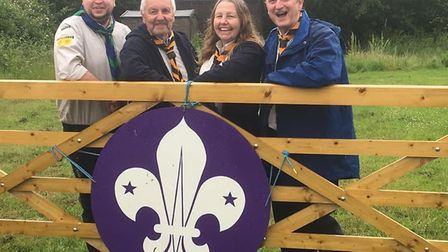 1st Mendlesham Scouts have launched a �150,000 appeal to replace a former scout hut. Picture: 1ST ME