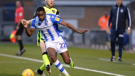 Kane Vincent-Young has played more than 100 games for Colchester United. Photo: Pagepix