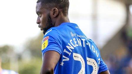 Kane Vincent-Young in action for Colchester United. Photo: Steve Waller
