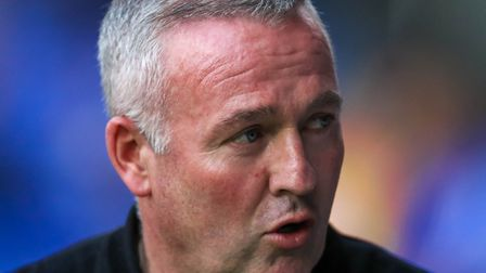 Town manager Paul Lambert pictured ahead of the Ipswich Town v AFC Wimbledon match. Picture: STEV