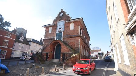 The homes are just a short distance from the Shire Hall, where Woodbridge Town Council meets Picture