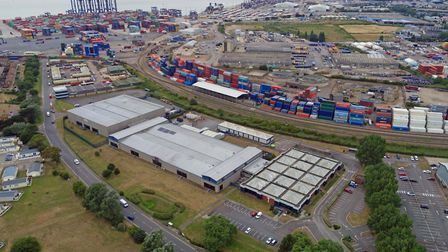 A 6.53 acre commercial site in Langer Road, Felixstowe including buildings, is for sale by Penn Com