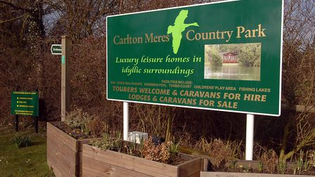 New static caravans could be added to Carlton Meres Picture: LUCY TAYLOR