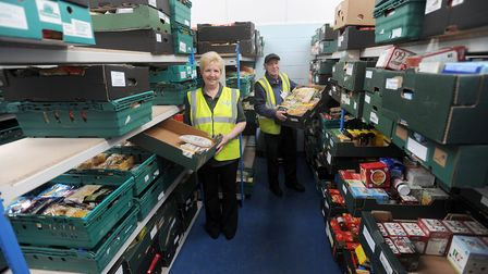 A new foodbank will be launched in Colchester to meet demand Picture: PHIL MORLEY