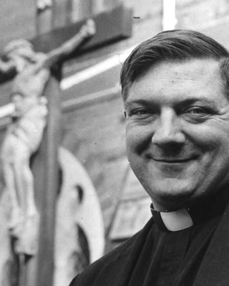 Father Francis Leeder in the 1980's Picture: ARCHIVE