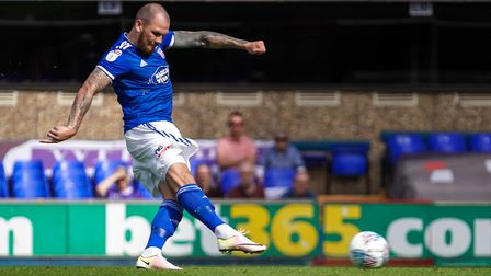 James Norwood won the PFA player of the month award for August. Picture: STEVE WALLER