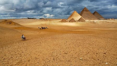 Most of our UK bean crop ends up in Egypt Picture: AP/MUHAMMED MUHEISEN