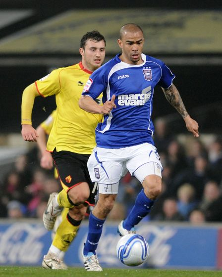 Kieron Dyer made more than 100 appearances for the Tractor Boys before becoming an academy coach Pic