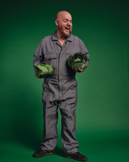 Comedian George Egg will be appearing at the Jubilee Hall in Aldeburgh as part of the Aldeburgh Food