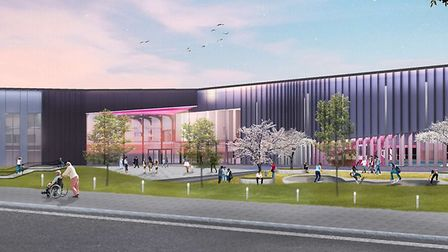 An exhibition will be held over the proposed Western Way development Picture: PICK EVERARD