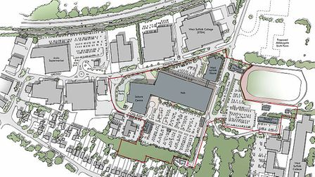 The site layout for Western Way Picture: PICK EVERARD