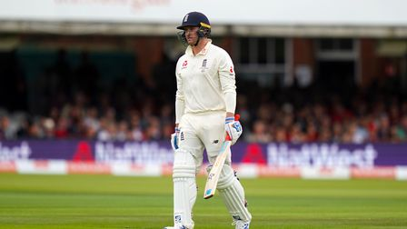 England's Jason Roy was dismissed for a duck on day two of the Lord's test - but Don Topley thinks E