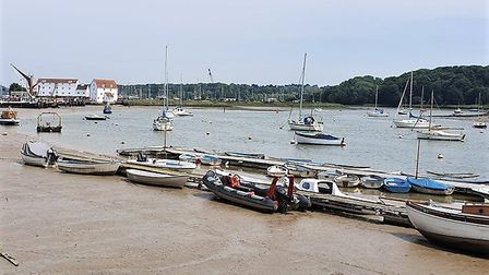 """""""Going with the Flow"""" is 10 days of workshops and demonstrations about the River Deben tides. Pictur"""