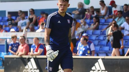 Harry Wright pictured at the Ipswich Town open day Picture: ROSS HALLS