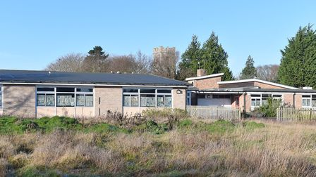 The site where the new Worlingham community facility is to be built. Picture: JAMES BASS