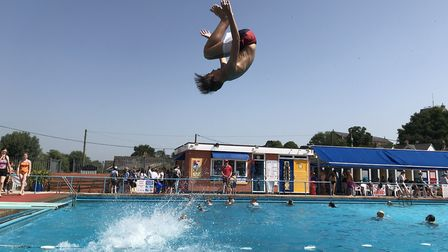 Beccles Lido has been told that no CIL money is available for the last stage of its revamp. Picture: