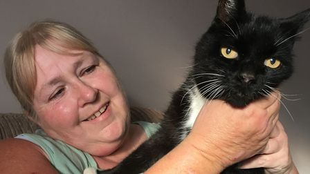 Quincey the cat found his way home after going missing for 12 years. Picture: CATS PROTECTION