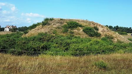 The new paths and opening up Sutton Hoo mounds are giving visitors new views of the site. Picture; P
