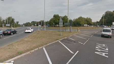 Kesgrave Town Council is worried about traffic using the Martlesham Park and Ride roundabout. Pictur