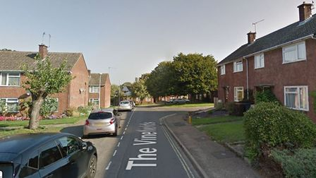 A woman in her 70s had a safe stolen from her home in The Vinefields, Bury St Edmunds Picture: GOOGL