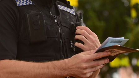 Suffolk police has fully integrated a location app Picture: ARCHANT