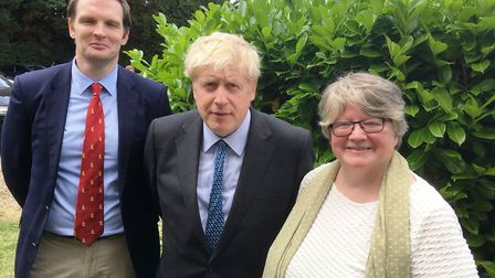 Dr Dan Poulter and Dr Therese Coffey supported Boris Johnson's leadership bid. Dr Poulter said it wa
