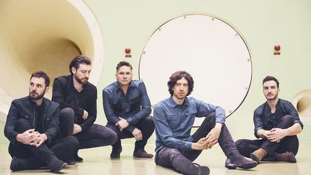 Snow Patrol will play at the Ipswich Regent in November Picture: SIMON LIPMAN