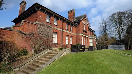 Belle Vue House in Sudbury Picture: PHIL MORLEY