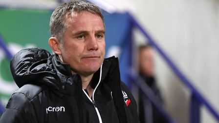 Phil Parkinson has resigned as Bolton manager. Picture: PA SPORT