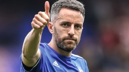 Cole Skuse took the captain's armband in Luke Chambers' absence. Picture: STEVE WALLER WWW.ST