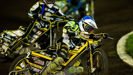 James Sarjeant is back at Foxhall as an Ipswich Witch. Picture: STEVE WALLER