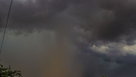 Thunderstorms are on the way for parts of east Suffolk and north Essex on Monday Picture: MARK HUNTE