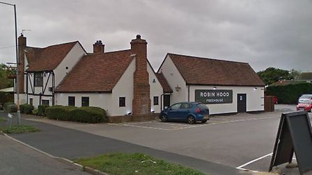 Two men broke into the Robin Hood pub in Clacton Picture: GOOGLE MAPS